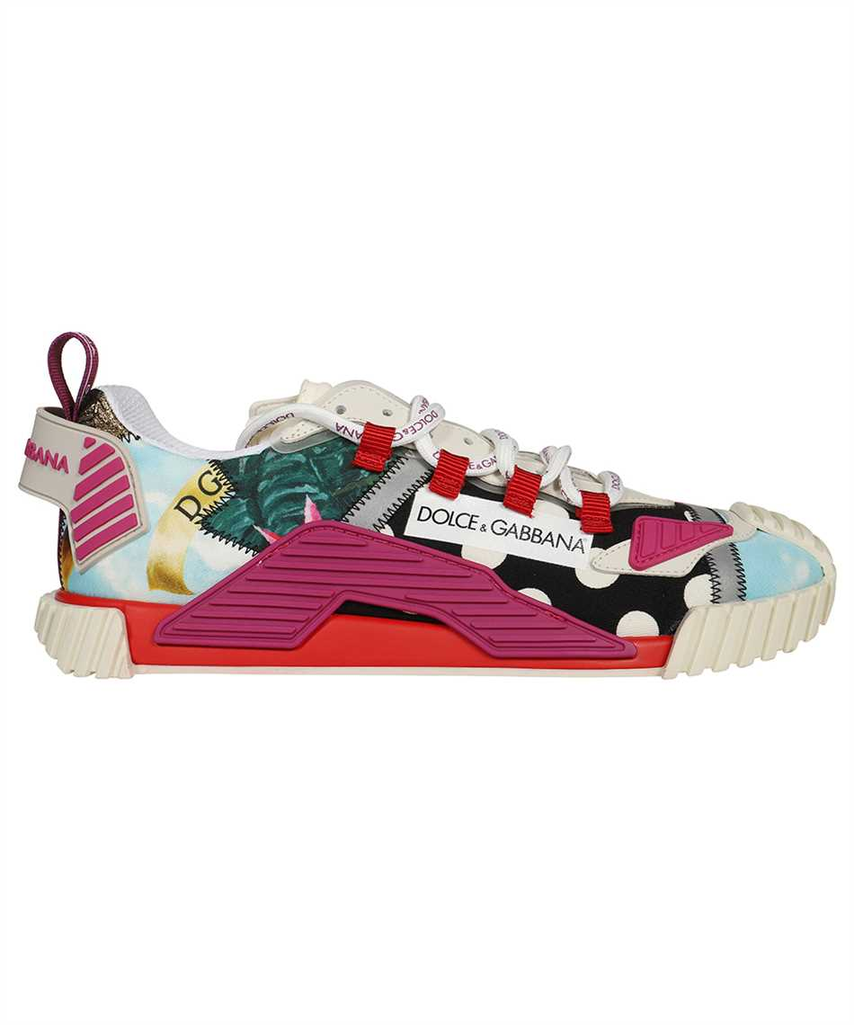Dolce & Gabbana CK1756 AO672 PATCHWORK FABRIC NS1 Sneakers 1