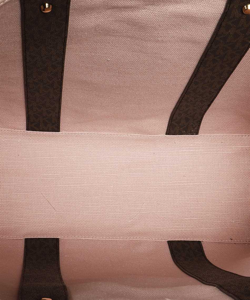 Michael Kors 30T9GV0T7B EVA LARGE LOGO STRIPE TOTE Bag 3