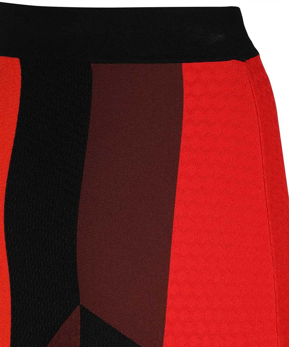 Alexander McQueen 641901 Q1ARR PATCHWORK KNT Skirt 3