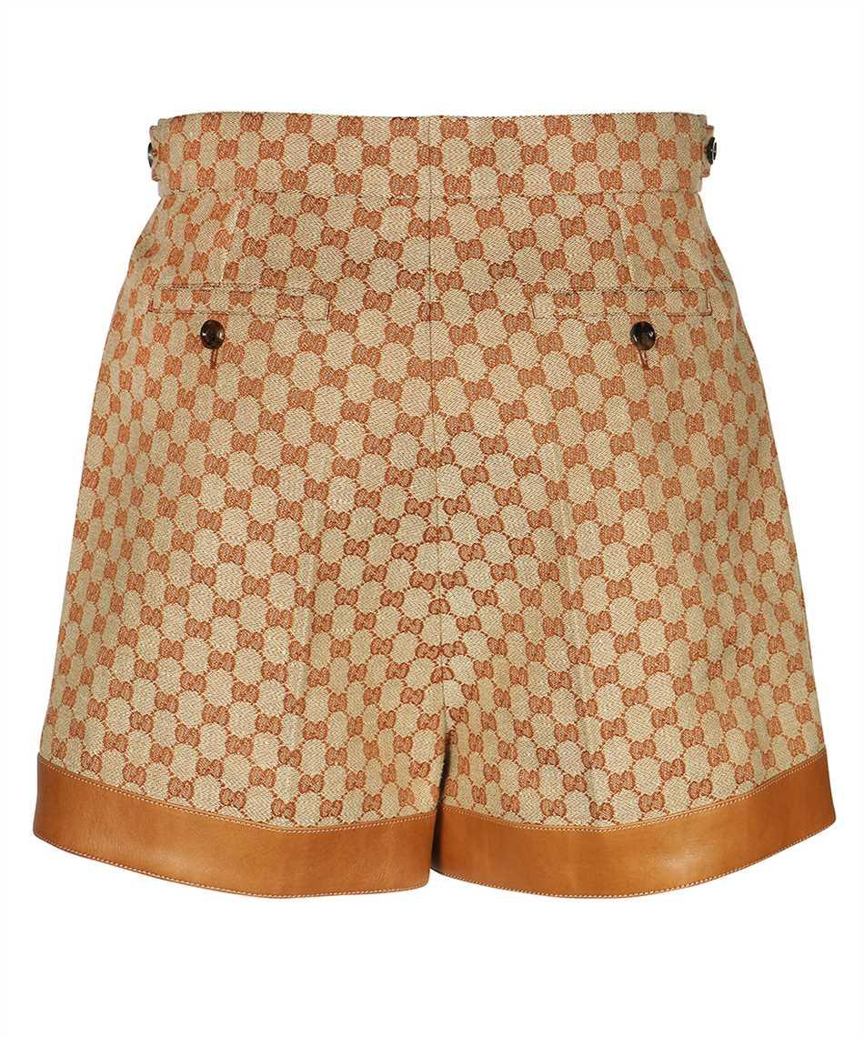 Gucci 661565 Z8AOA GG LINEN CANVAS Shorts 2