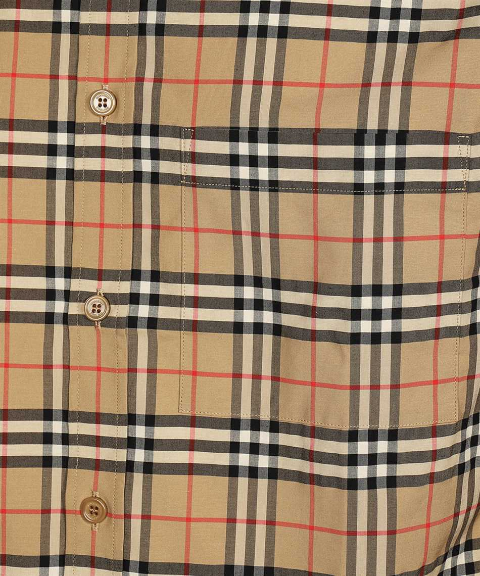 Burberry 8020966 SMALL SCALE CHECK STRETCH COTTON Shirt 3