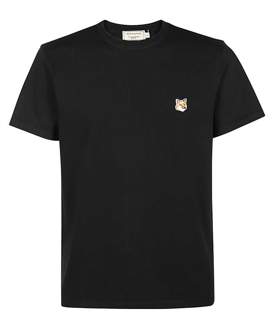 Maison Kitsune AM00103KJ0008 FOX HEAD PATCH CLASSIC T-shirt 1
