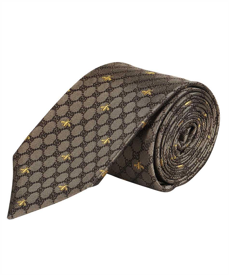 Gucci 545078 4E002 GG BEES Cravatta 2