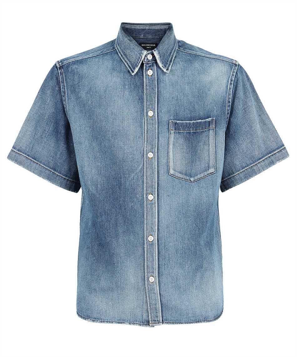 Balenciaga 662770 TIW35 REGULAR DENIM Shirt 1