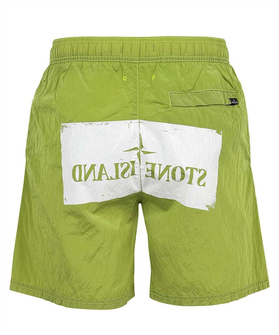 Stone Island B0992 NYLON METAL STENCIL PRINT Shorts 2