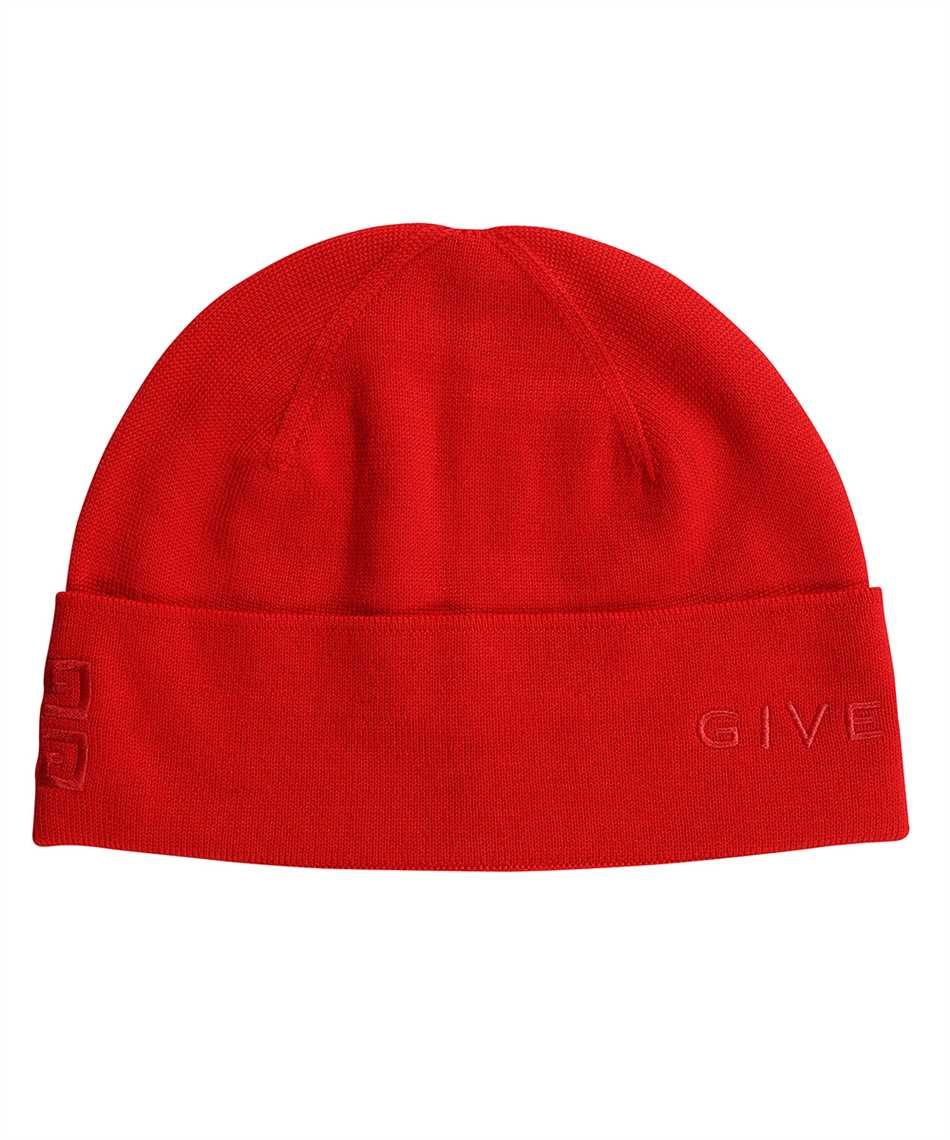 Givenchy BGZ01T G01D 4G GIVENCHY EMBROIDERED WOOL Cappello 1