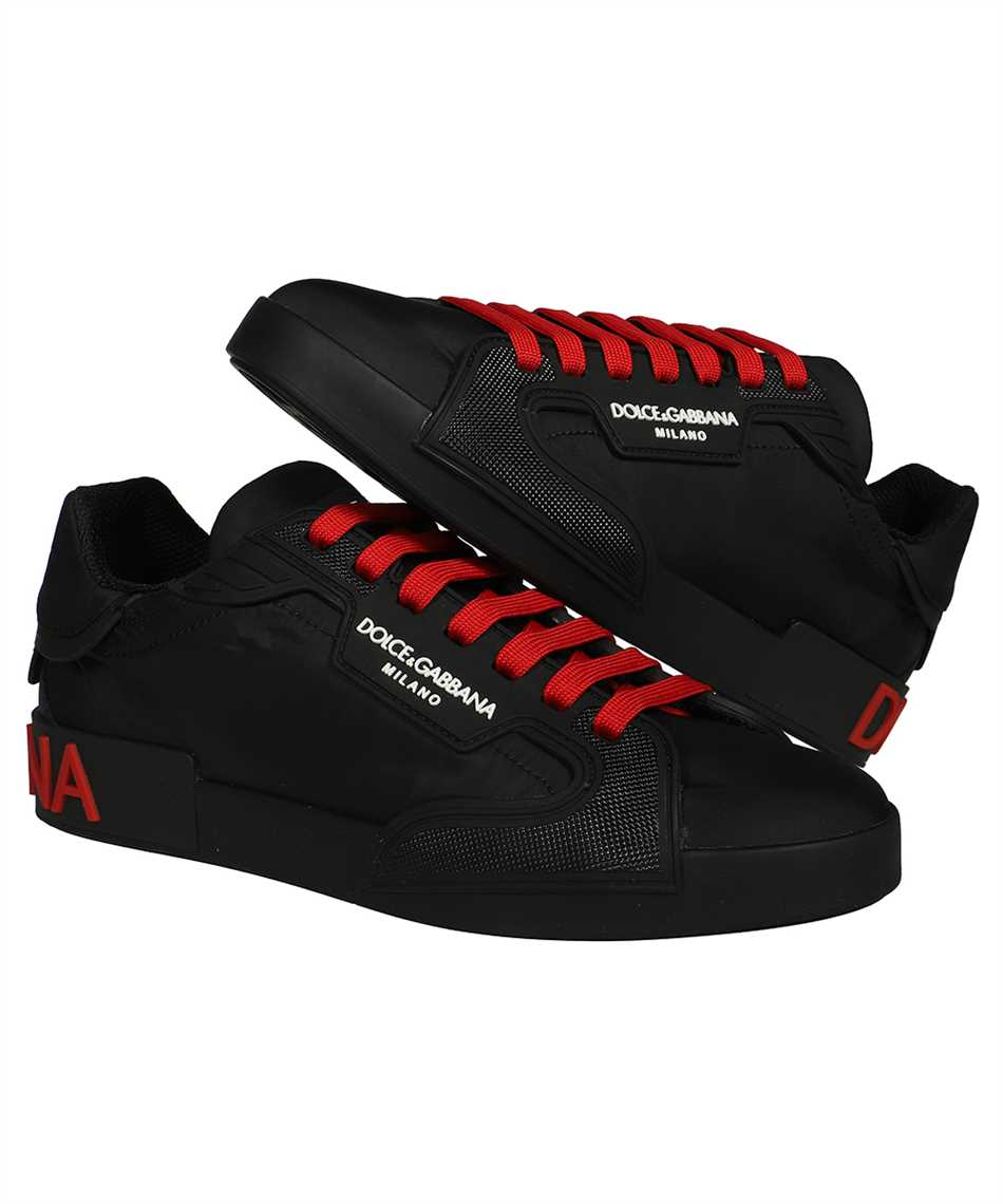 Dolce & Gabbana CS1865 AO217 NYLON AND RUBBER PORTOFINO Sneakers 2