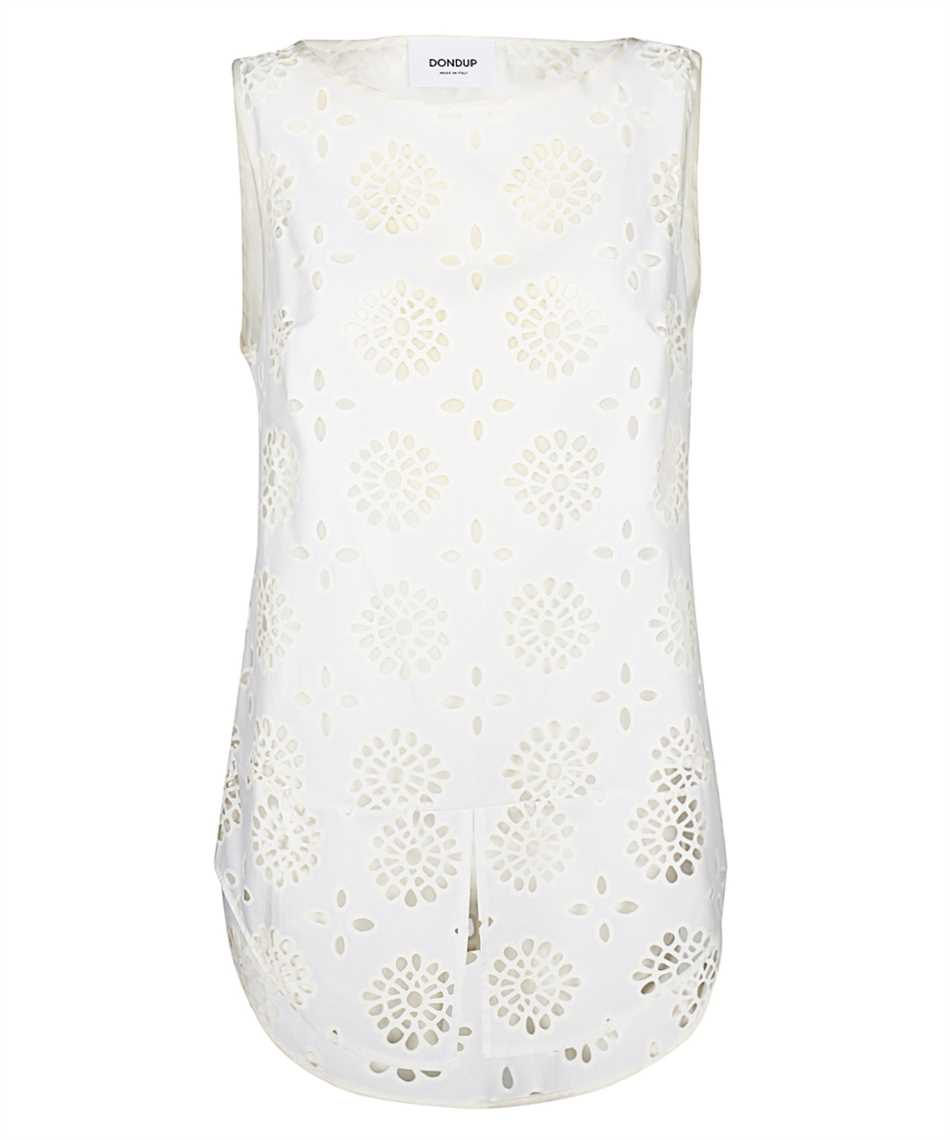 Don Dup DC121 FF0350 XXX BRODERIE Tank top 1