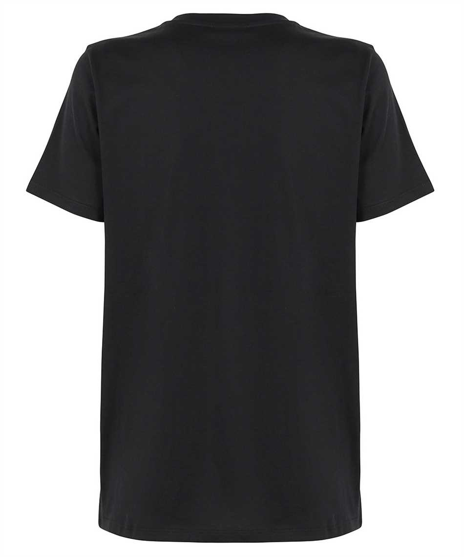 Balmain WF1EF000B097 METALLIC LOGO T-shirt 2