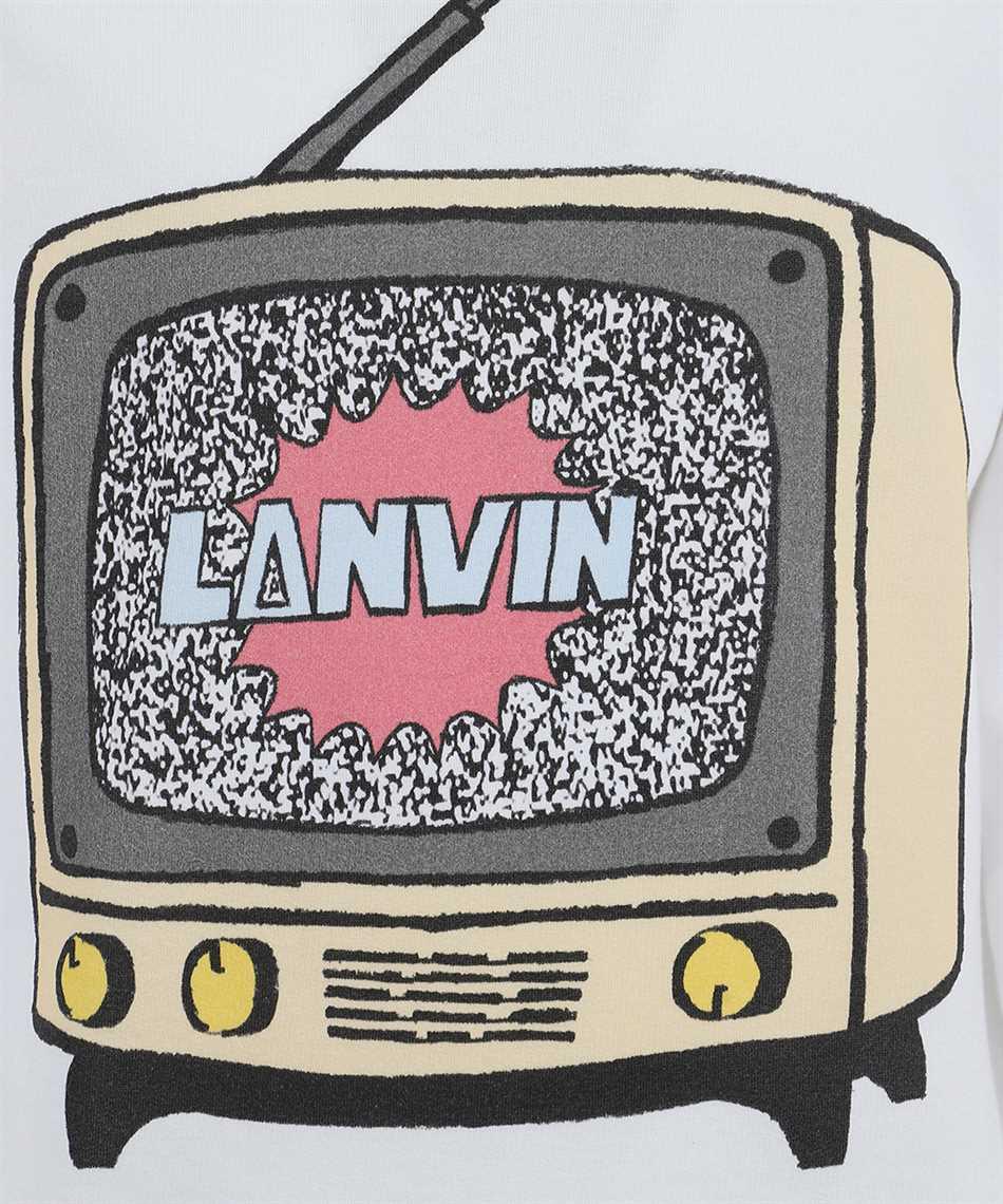 Lanvin RM-JE0067 JR19 H20 PRINTED Hoodie 3