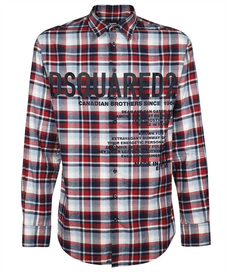 Dsquared2 S74DM0535 S53989 CERESIO 9 CHECK Camicia 1