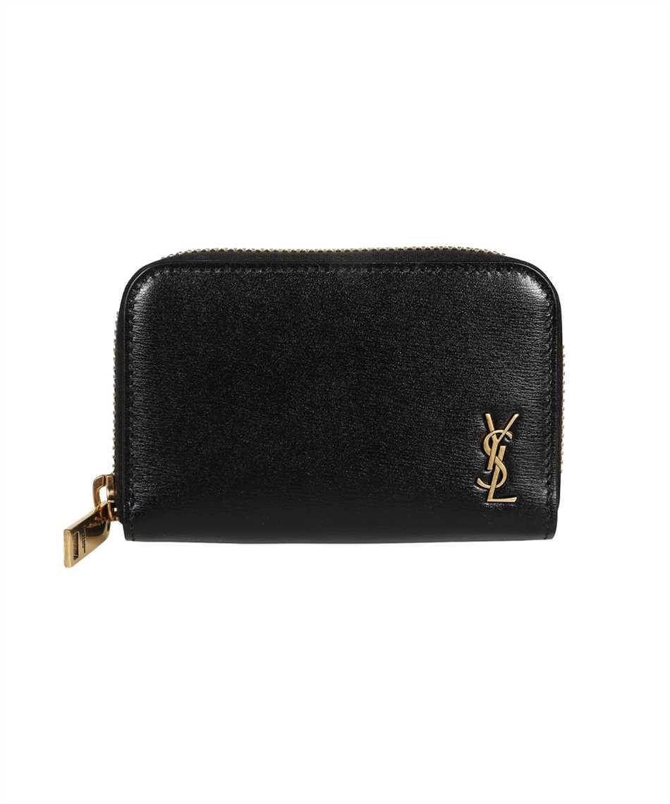Saint Laurent 607765 02G0W TINY MONOGRAM COIN CARD Wallet 1