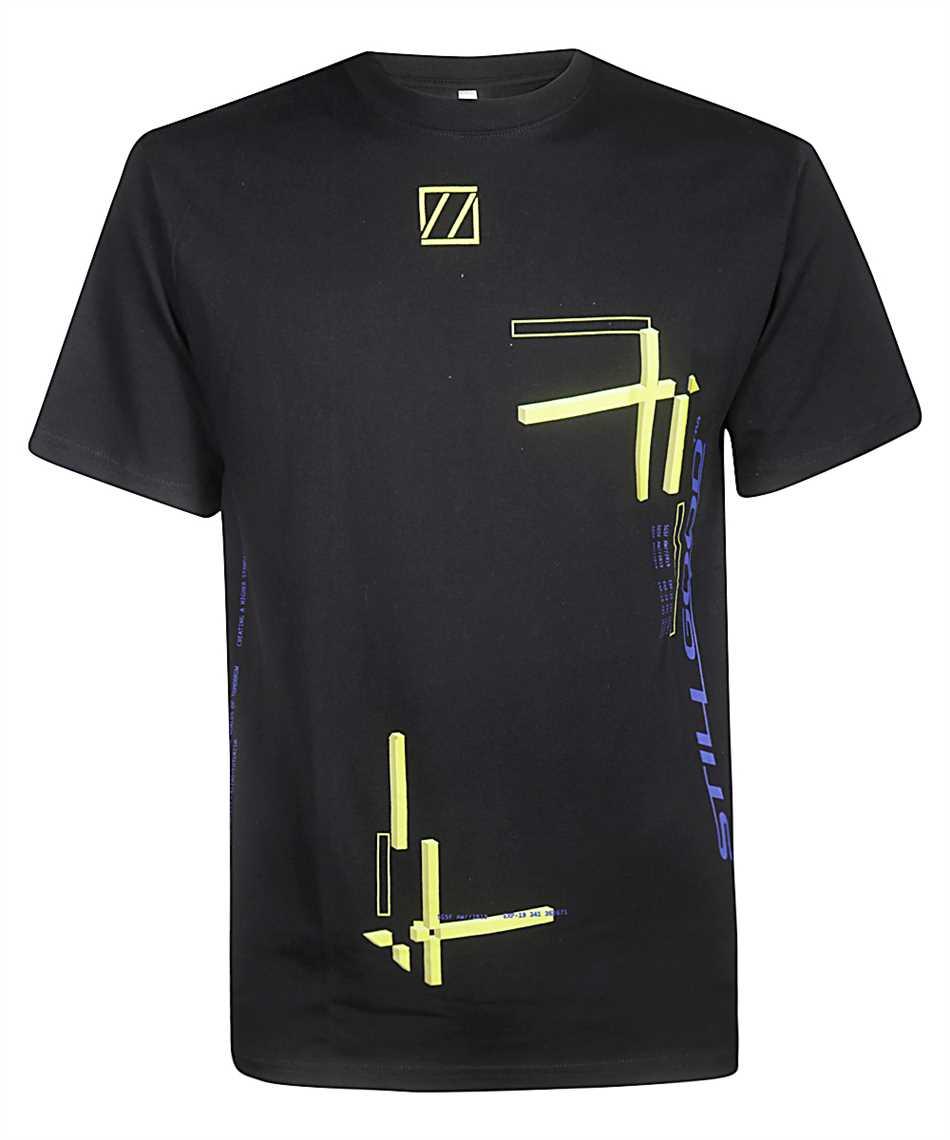 Still Good ABSTRACT MOVEMENT 3D SS TEE T-shirt 1