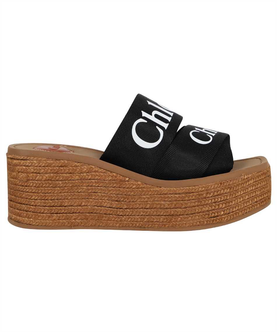 Chloé CHC21U44908 WOODY WEDGE MULE Sandals 1