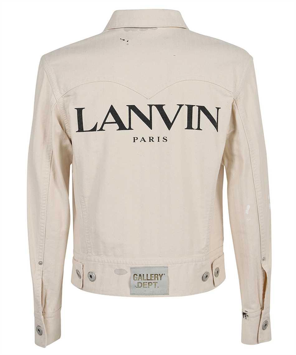 Lanvin RM JA0035 4391 E21 GALLERY DEPT. PAINT MARK DENIM Giacca 2