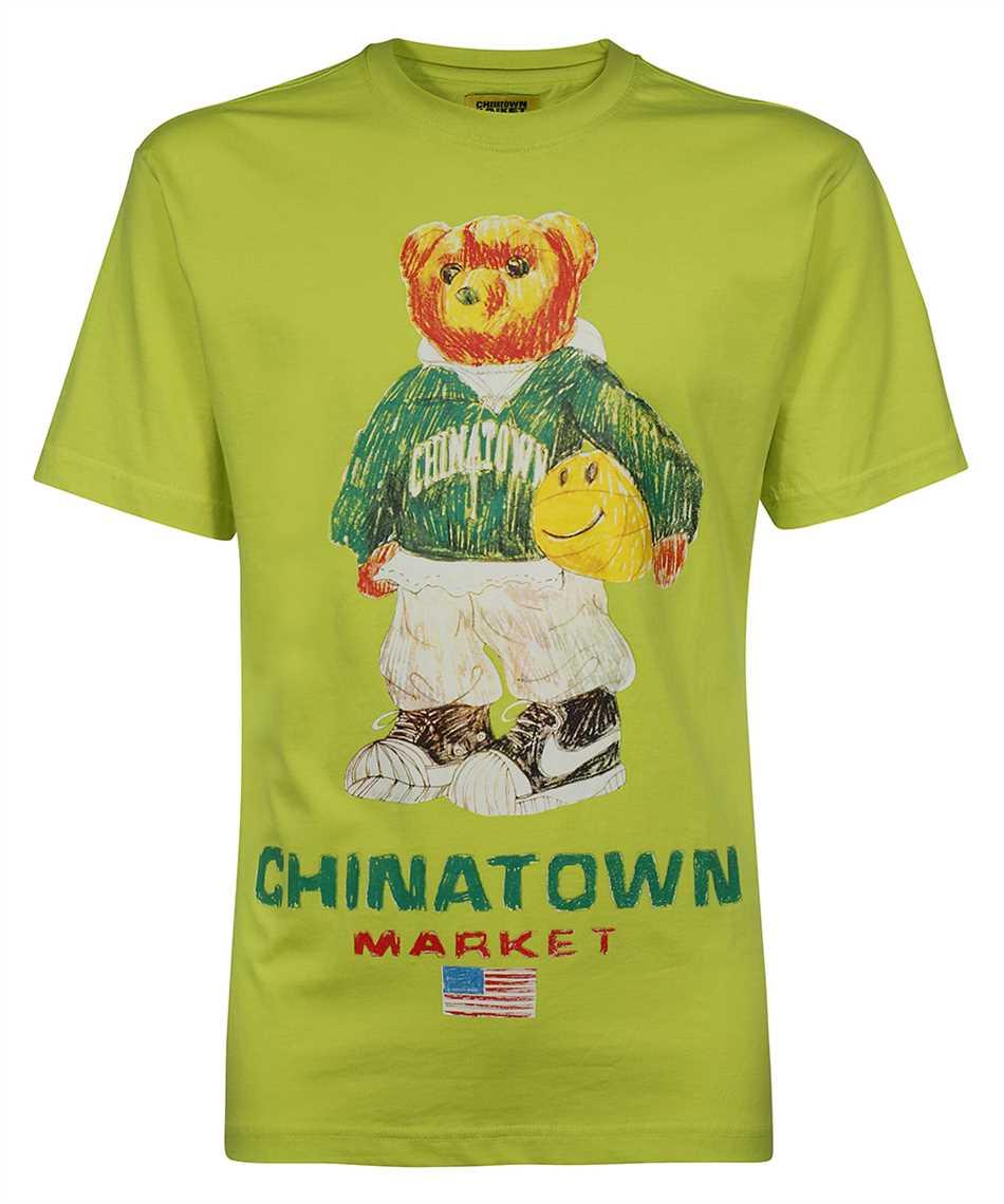 Chinatown Market 1990446 SMILEY SKETCH BASKETBALL BEAR T-shirt 1