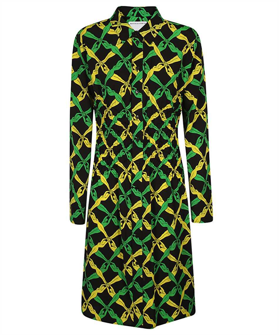Bottega Veneta 651741 V0G60 FANTASIA PRINT Dress 1