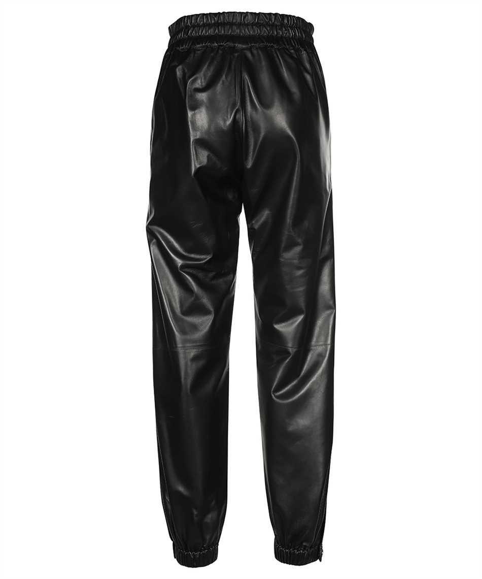 Alexander McQueen 668453 Q5AGP LEATHER Trousers 2
