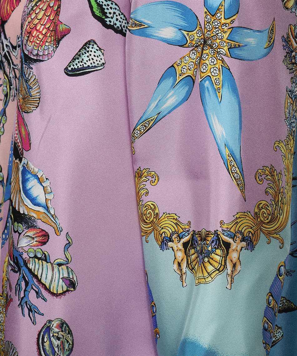 Versace A82662 1F00905 TRÉSOR DE LA MER PRINT SILK TWILL Shirt 3