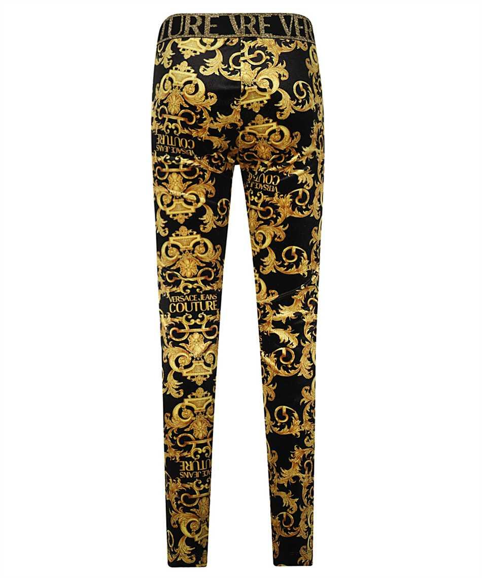 Versace Jeans Couture D5HWA101 S0034 VELVET BAROQE PRINT Pantalone 2