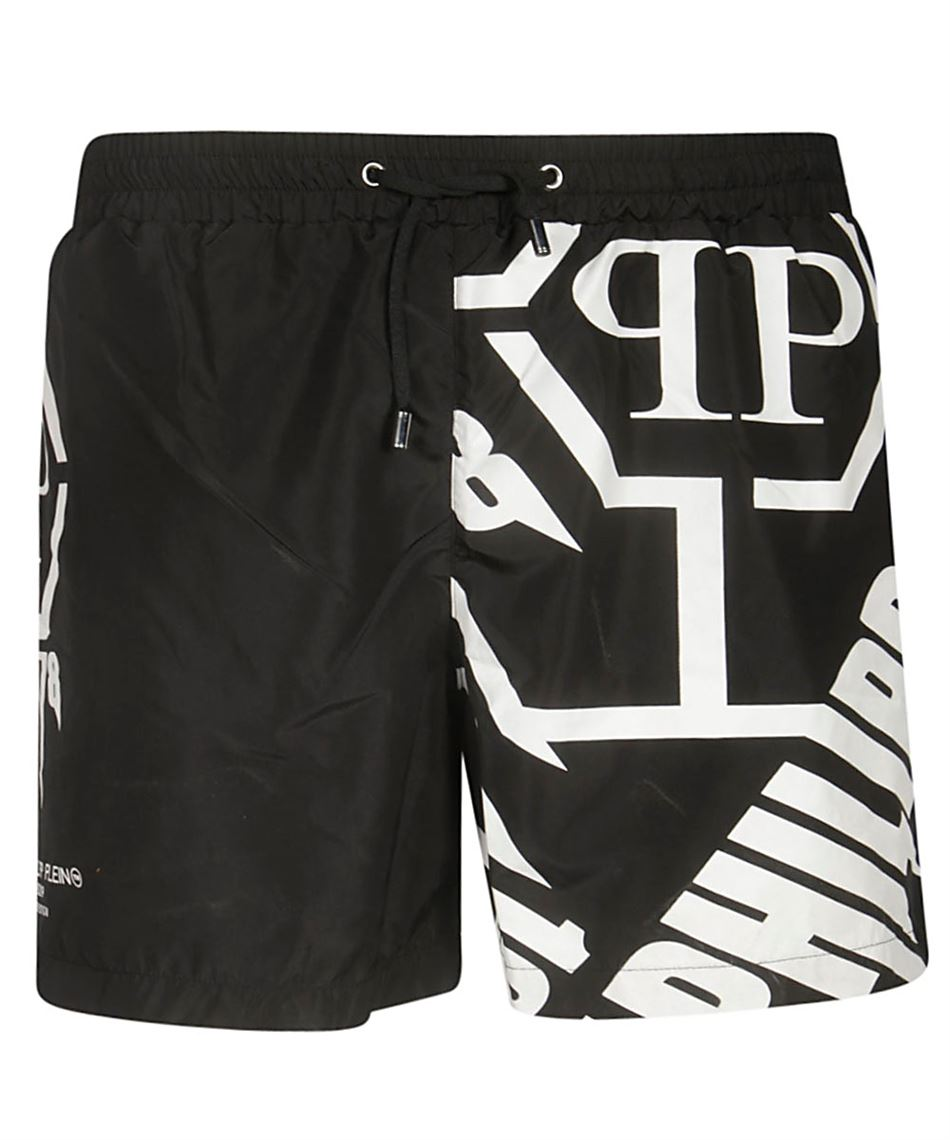 online store aba7b 4a57d Philipp Plein S19C MMT0129 PTE003N costume in poliestere Nero