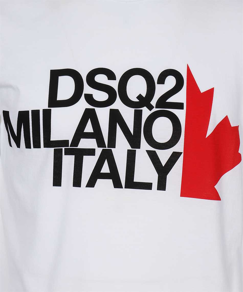Dsquared2 S74GD0730 S21600 MILANO ITALY T-Shirt 3