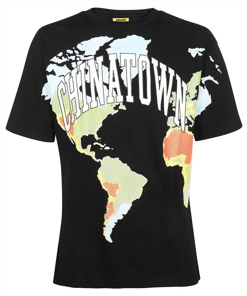 Chinatown Market 1990442 GLOBAL CITIZEN HALFTONE T-Shirt 1