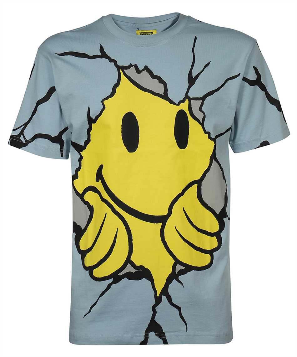 Chinatown Market 1990449 SMILEY DRY WALL BREAKER T-Shirt 1