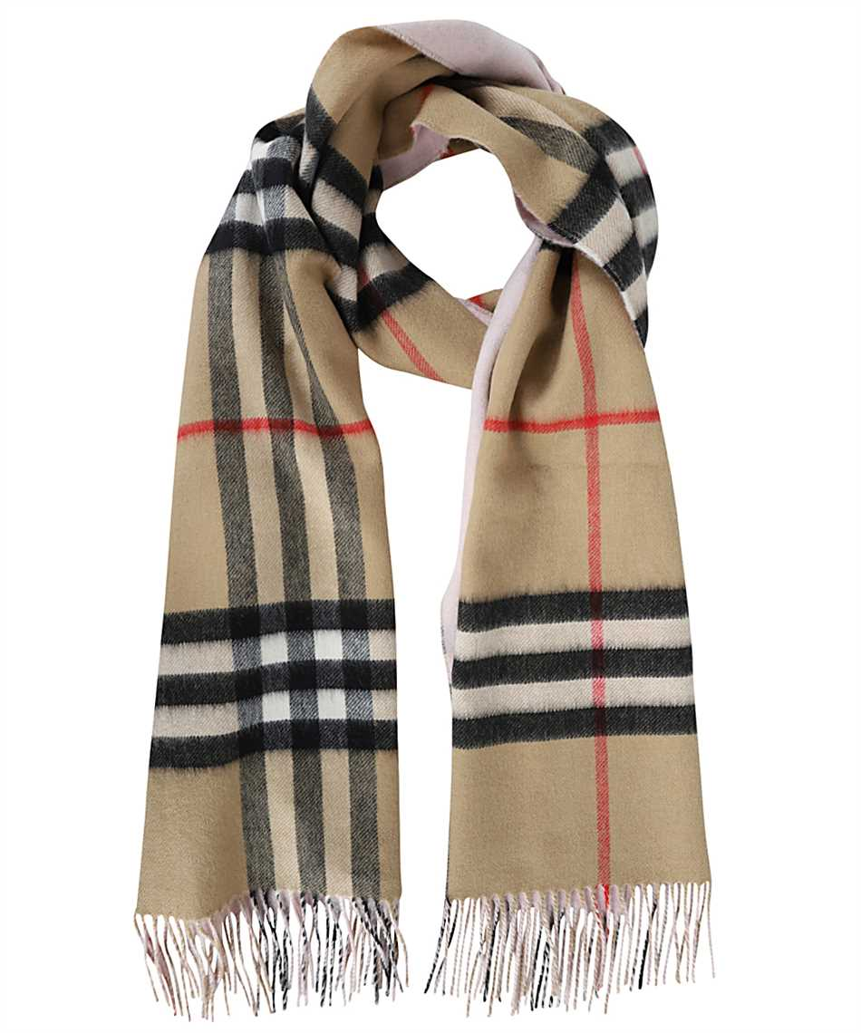 Burberry 8035912 REVERSIBLE CHECK CASHMERE Sciarpa 1