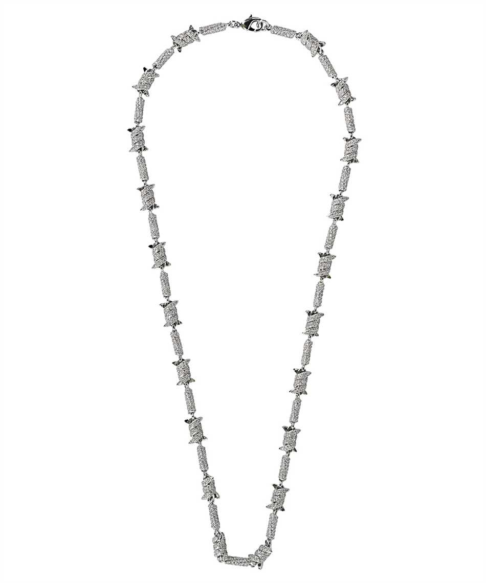 Darkai DICO0011BBDIL BARBED WIRE ICED OUT Collana 2
