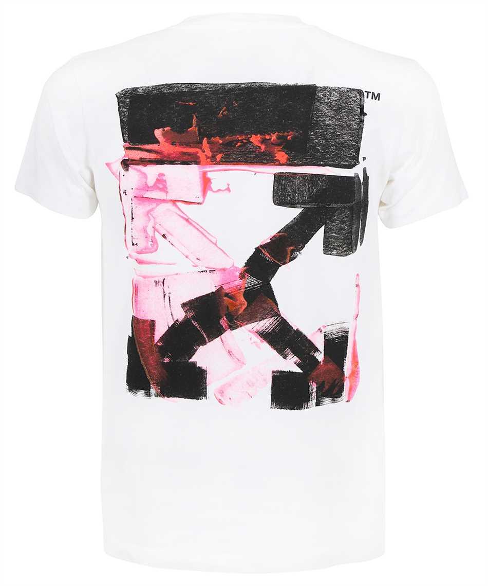 Off-White OMAA027F21JER017 ACRYLIC ARROW S/S SLIM T-Shirt 2