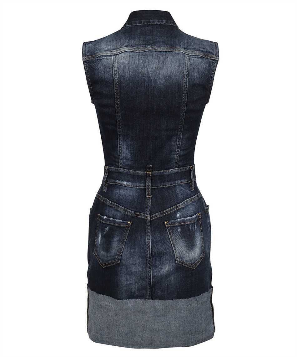 Dsquared2 S72CV0217 S30708 TRIPLE-X CUFF DENIM Dress 2