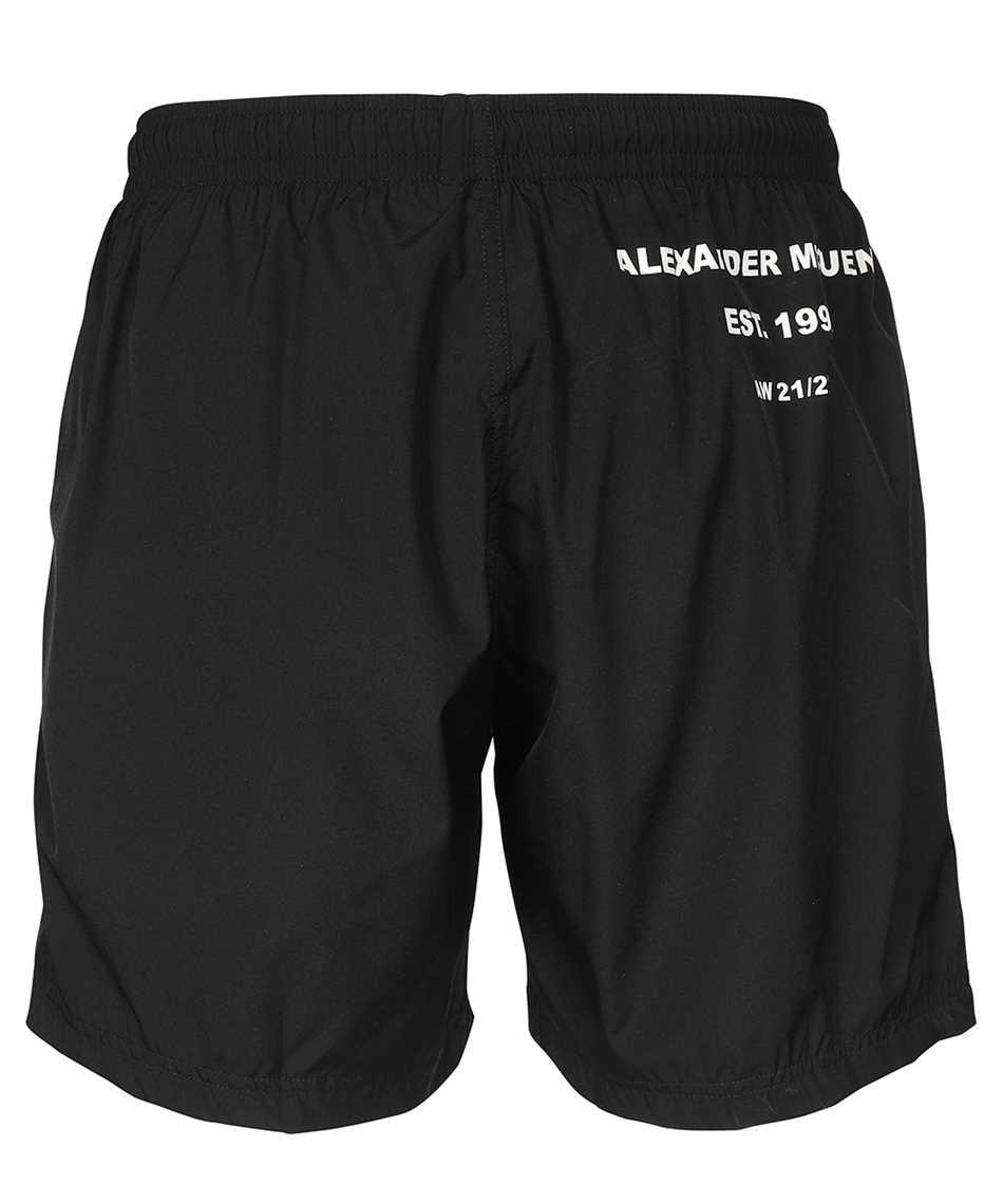 Alexander McQueen 660060 4419Q LOGO PRINT Swim shorts 2