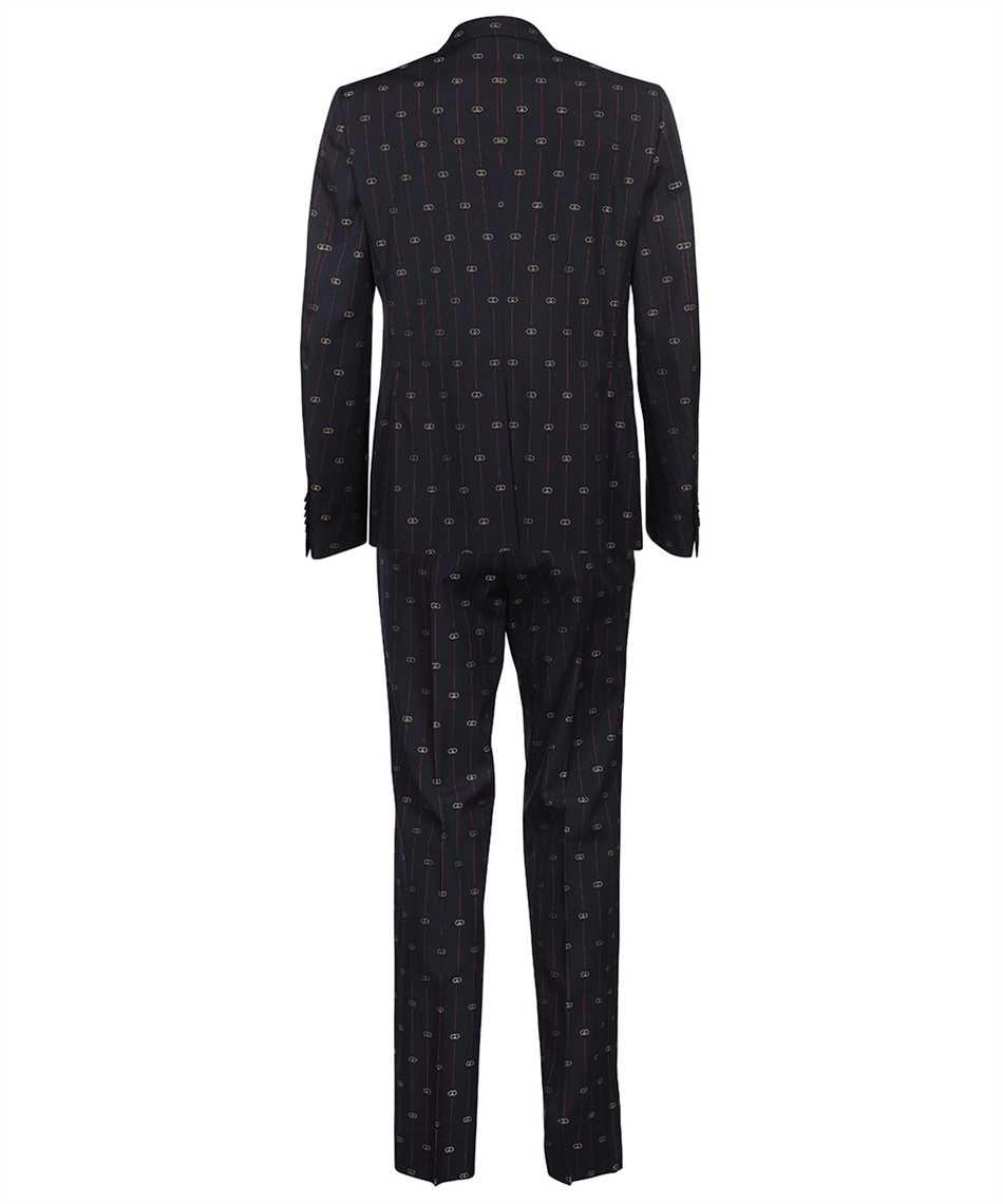 Gucci 660190 ZAGWR INTERLOCKING G STRIPE WOOL Suit 2
