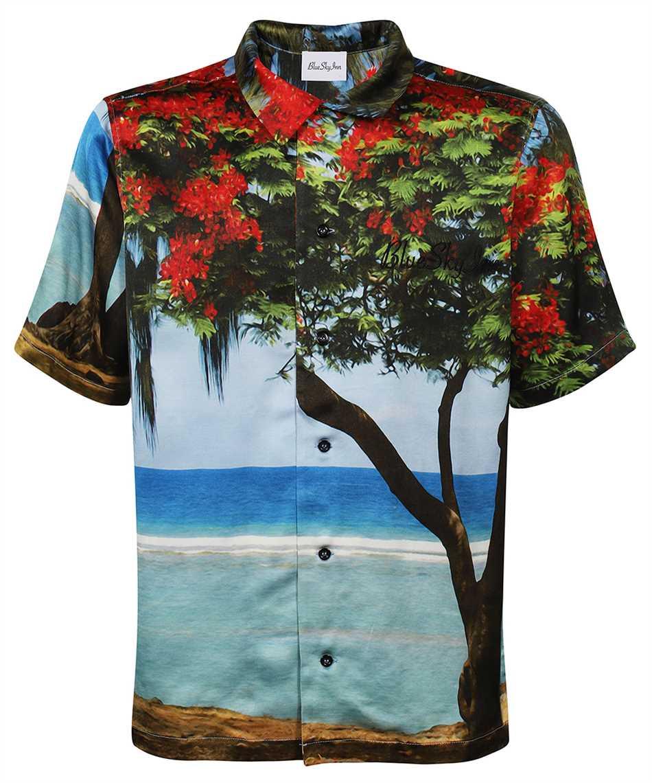 Blu sky inn BS2101SH004 TREE Camicia 1