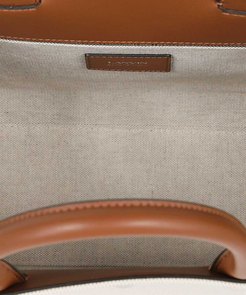 Lanvin LW BGTC01 CABR A21 EMBROIDERED CANVAS IN&OUT Tasche 3