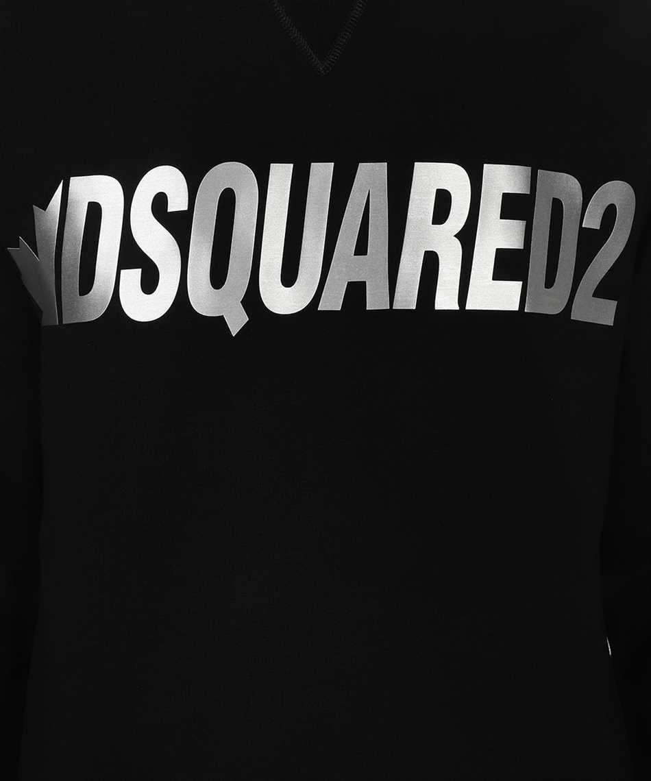 Dsquared2 S71GU0432 S25042 METAL LEAF CREWNECK Sweatshirt 3