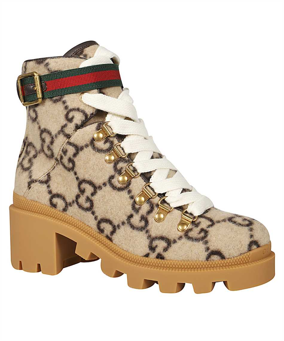 Gucci 578585 G38H0 GG WOOL Boots 2