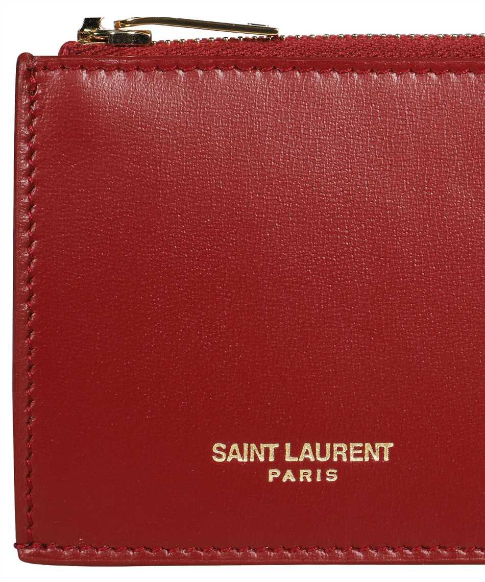 Saint Laurent 631992 1JB0J FRAGMENTS ZIPPED Kartenetui 3
