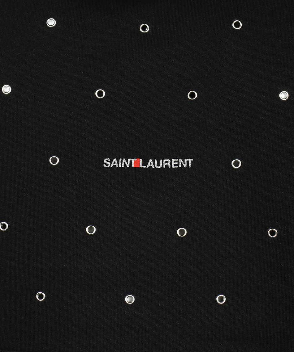 Saint Laurent 632418 YBQZ2 EYELETS Kapuzen-Sweatshirt 3