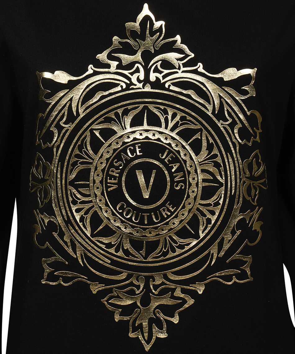 Versace Jeans Couture 71HAHF05 CJ00F V-EMBLEM LEAF T-Shirt 3