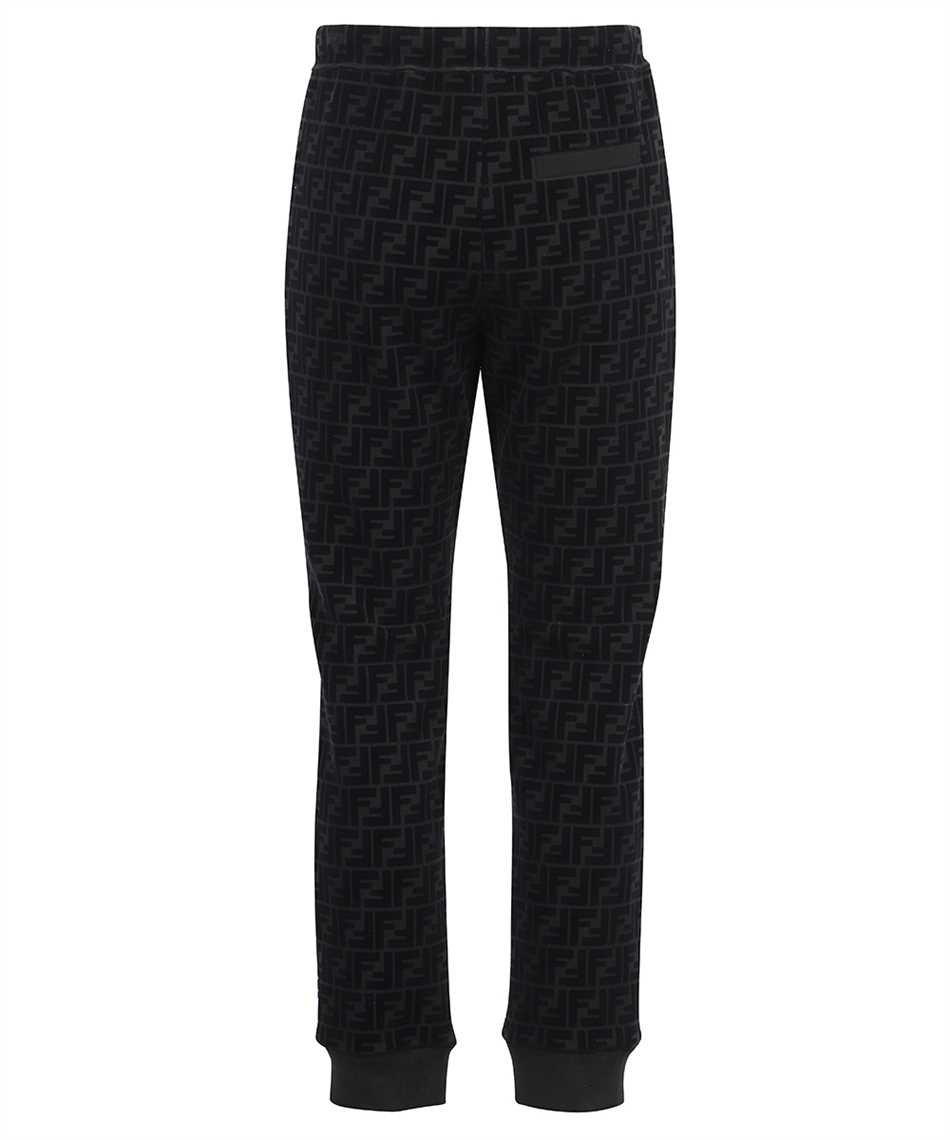 Fendi FB0461 AFRJ FF PIQUET PRINT Trousers 2