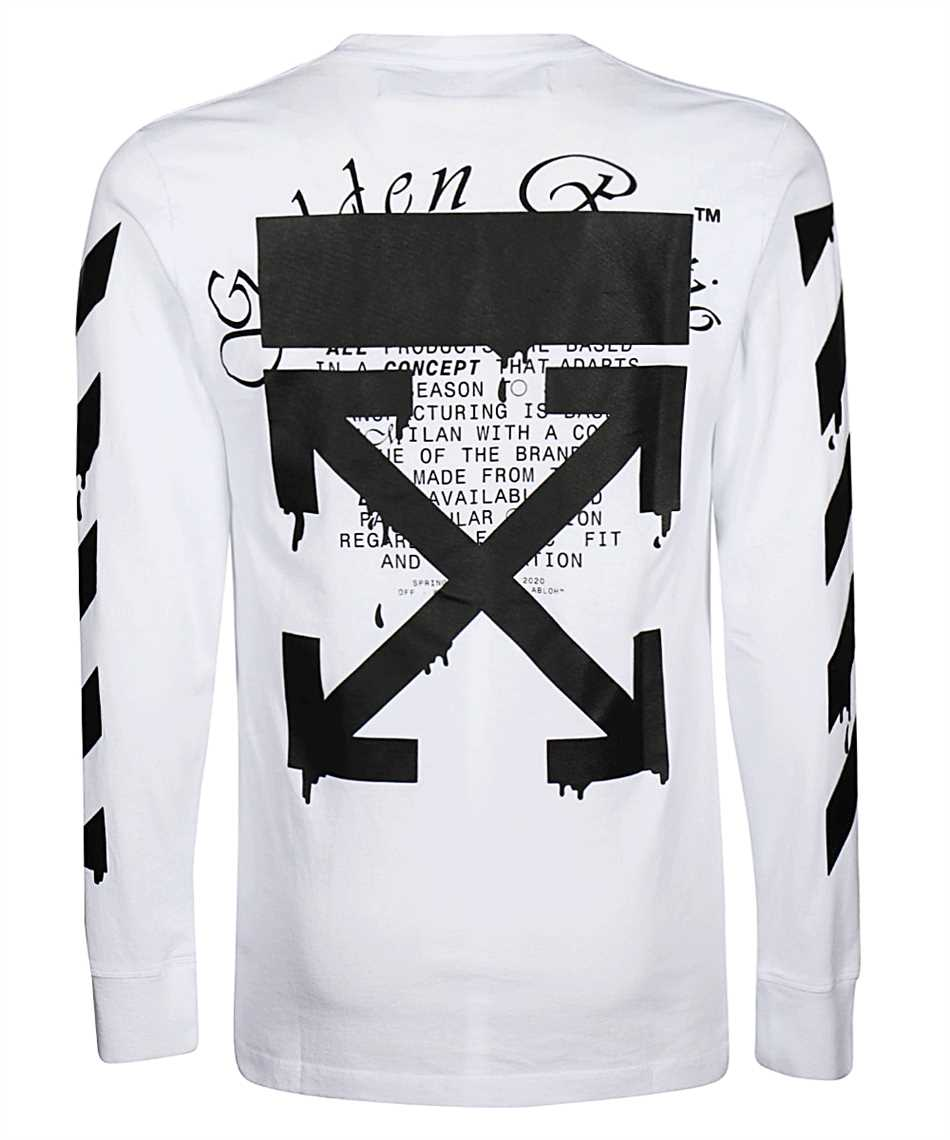 Off-White OMAB001R20185005 DRIPPING ARROWS Maglia 2