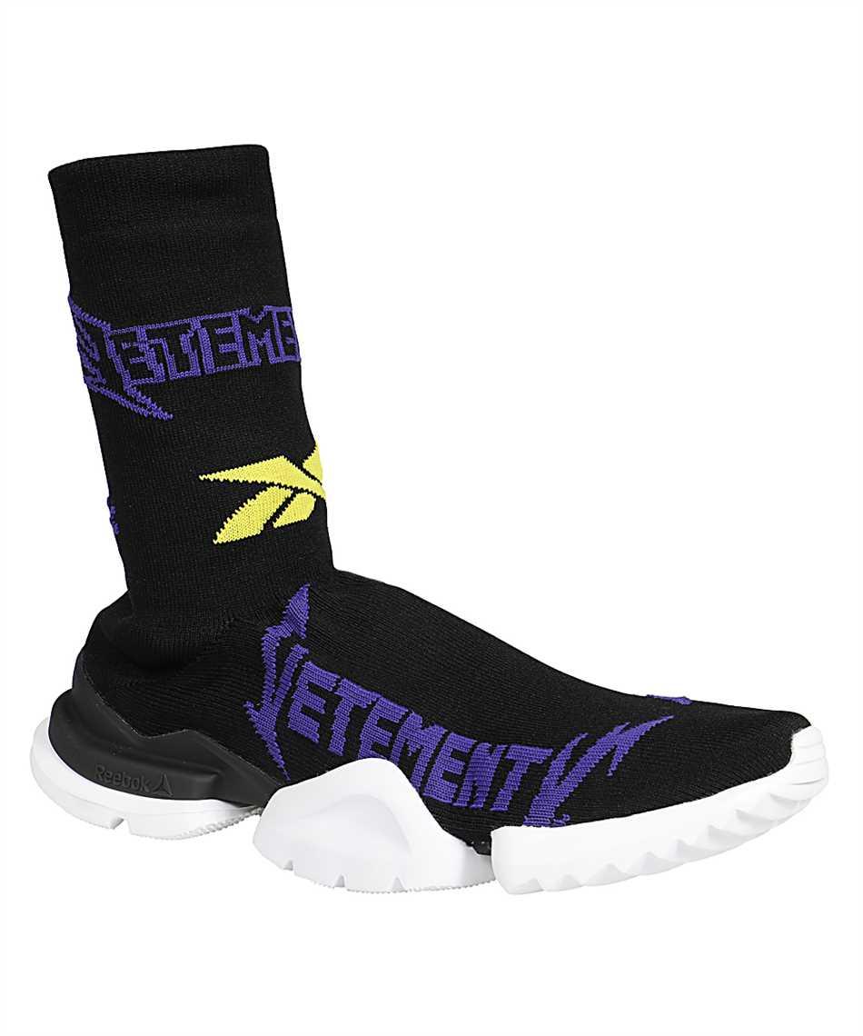 Vetements UE51SN600P METAL LOGO SOCK RUNNERS Sneakers 2