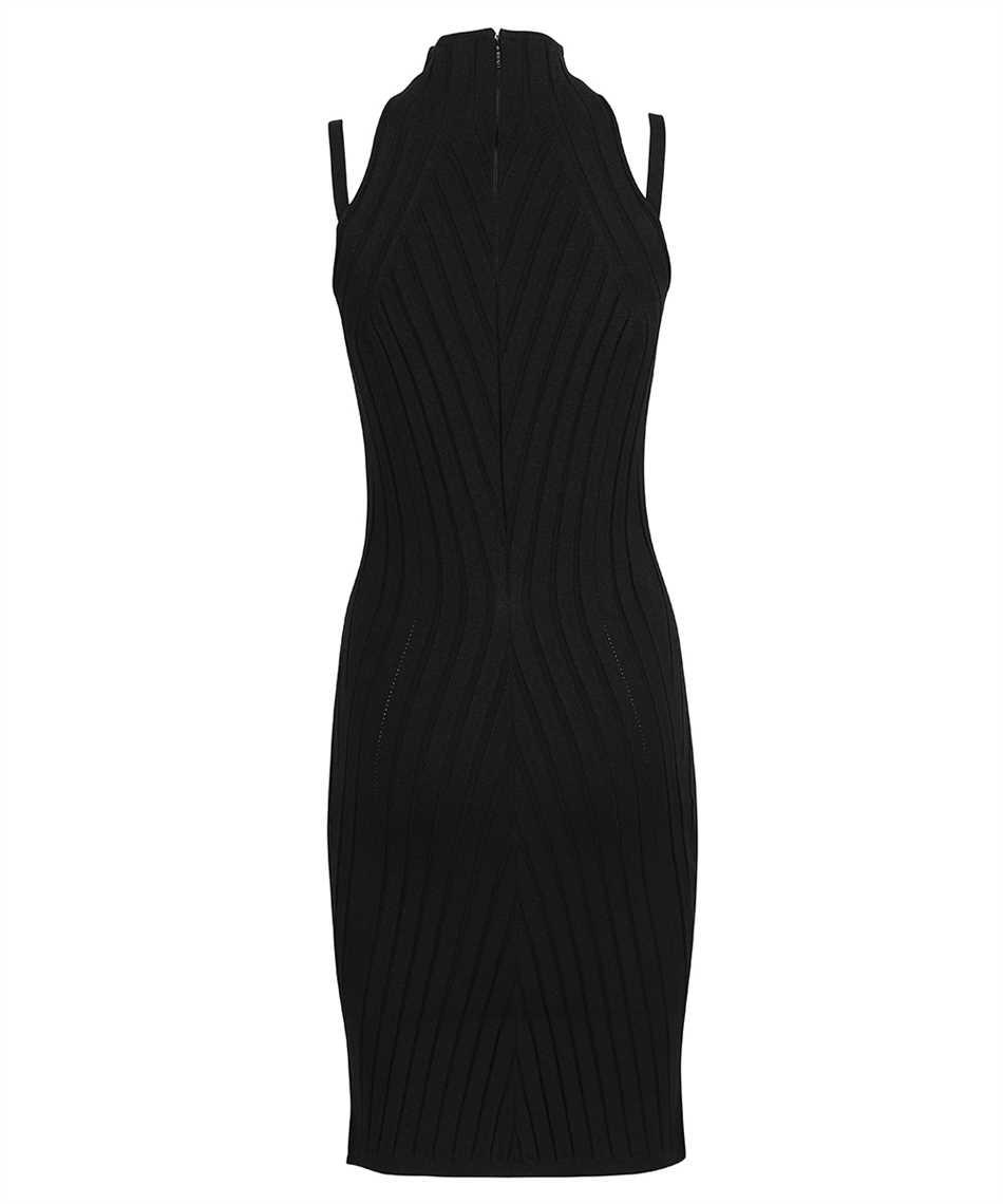 Versace 1000968 1A00664 MEDUSA RIBBED KNIT Dress 2