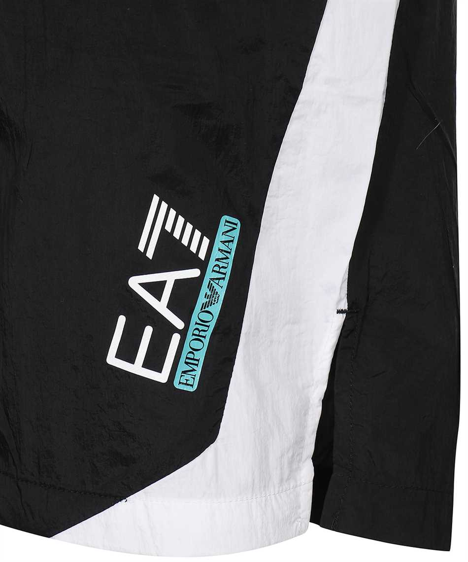 EA7 3KPS06 PN84Z JERSEY FLEECE Shorts 3