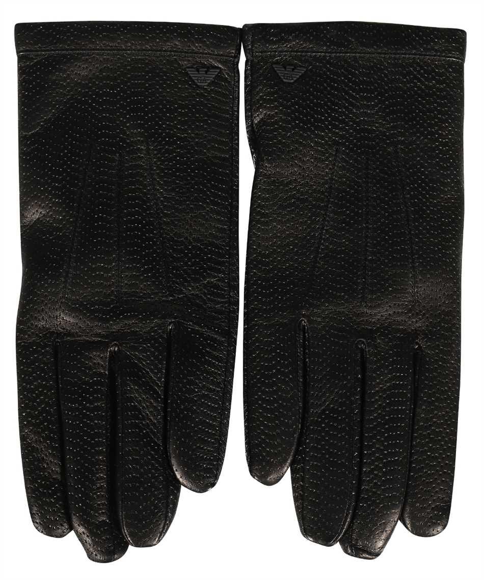 Emporio Armani 624136 0A200 LEATHER Gloves 1