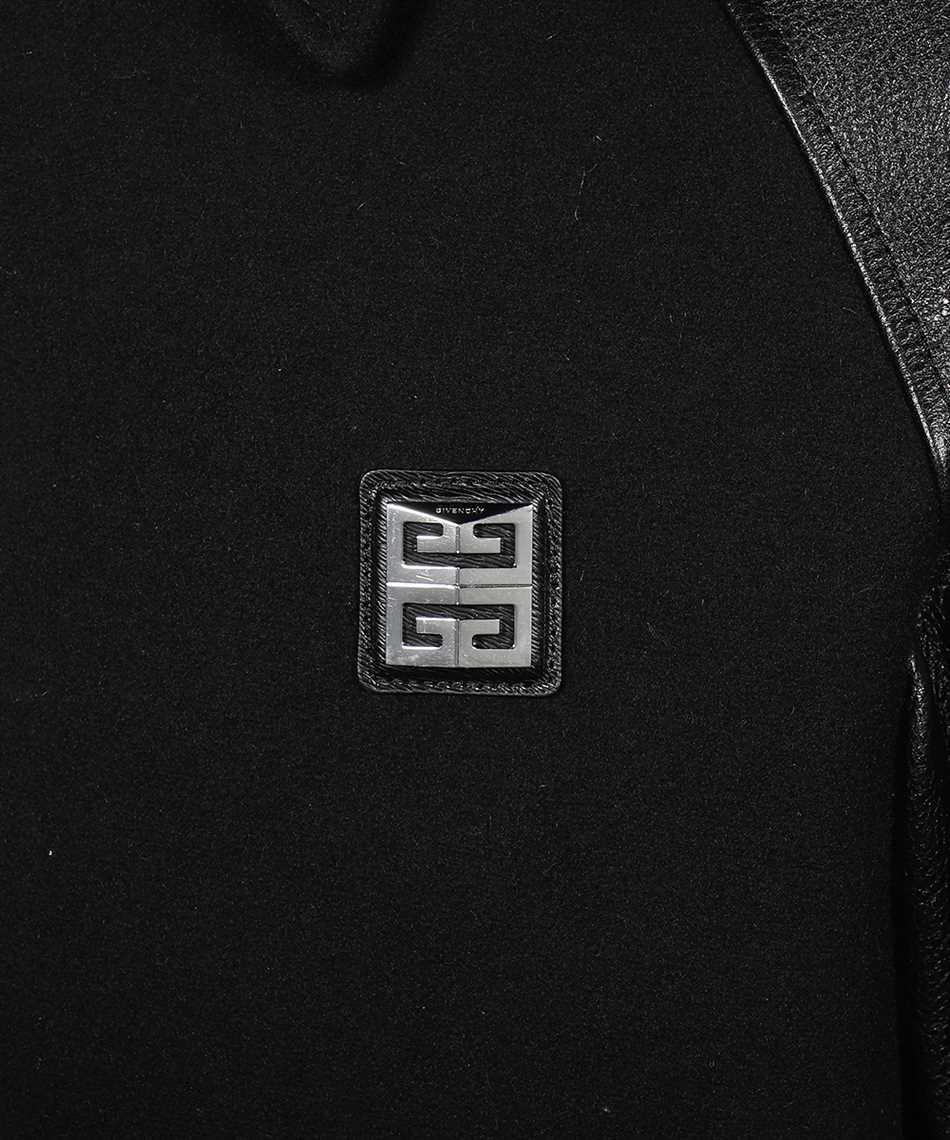 Givenchy BM00QH611V 4G MIX WOOL CALF LEATHER Giacca 3