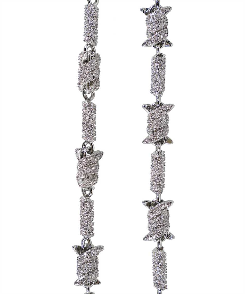 Darkai DICO0011BBDIL BARBED WIRE ICED OUT Collana 3