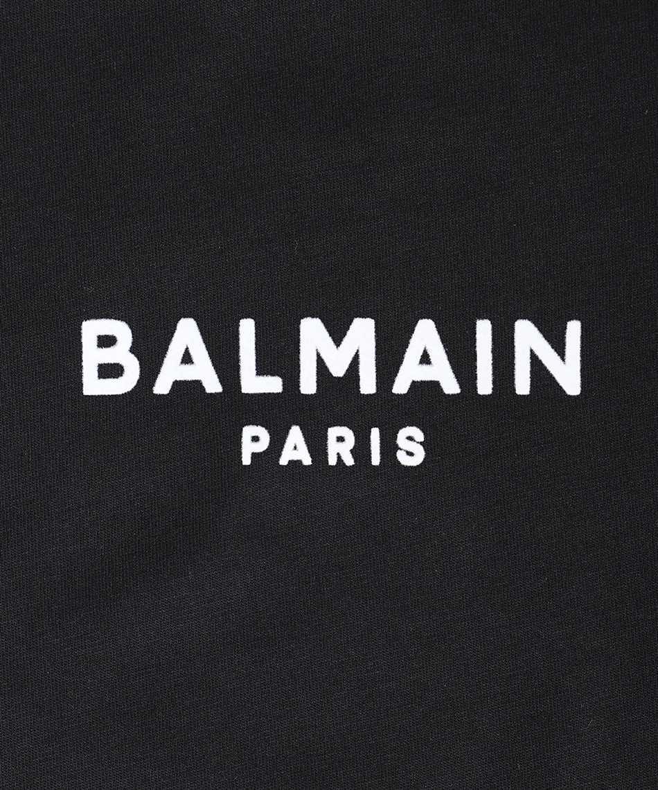 Balmain WF1EF010B013 FLOCKED LOGO T-shirt 3